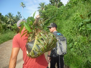 Nakia Eco Resort, Taveuni, donates young trees to increase birdlife