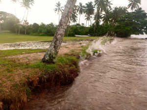 Cyclone season in Fiji runs from November until April .
