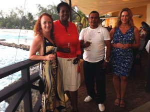 Bajan friends in Barbados