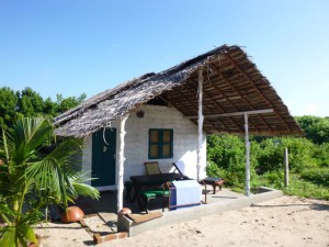 Sri Lanka, Island Spirit, cabana accomodation
