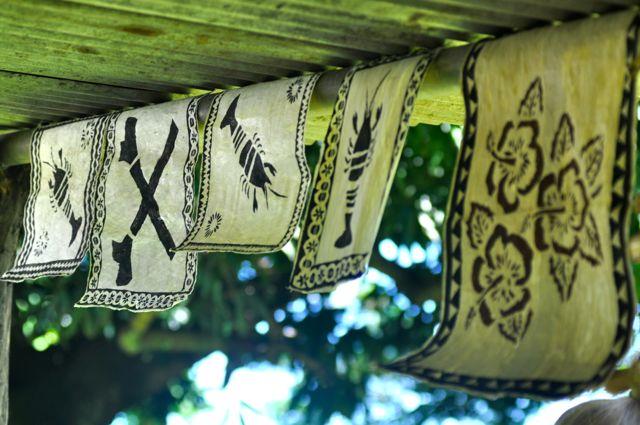 Fijian art Island Spirit