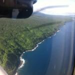 Taveuni island, aerial view, Fiji