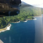 Fiji Conservation in Taveuni, Fiji. Arial shot by Island spirit