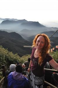 Sri Lanka, Island Spirit, Adams Peak, Kirsty