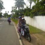 Sri Lanka motorbike lift, Island Spirit