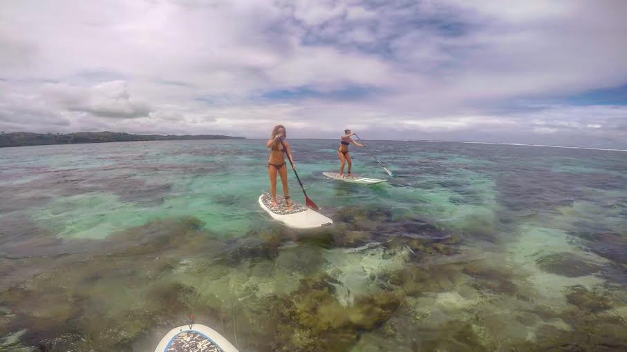 day in the life, island spirit, Beach House SUP coral coast fIJI