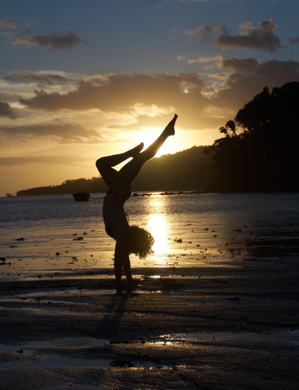 Island Spirit yoga trip beach house Fiji