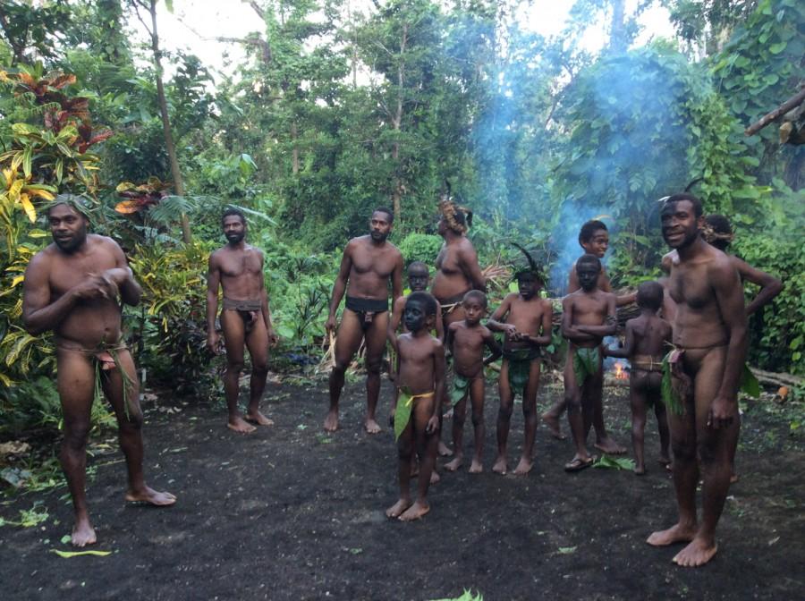 Vanuatu tribe. climate change island spirit