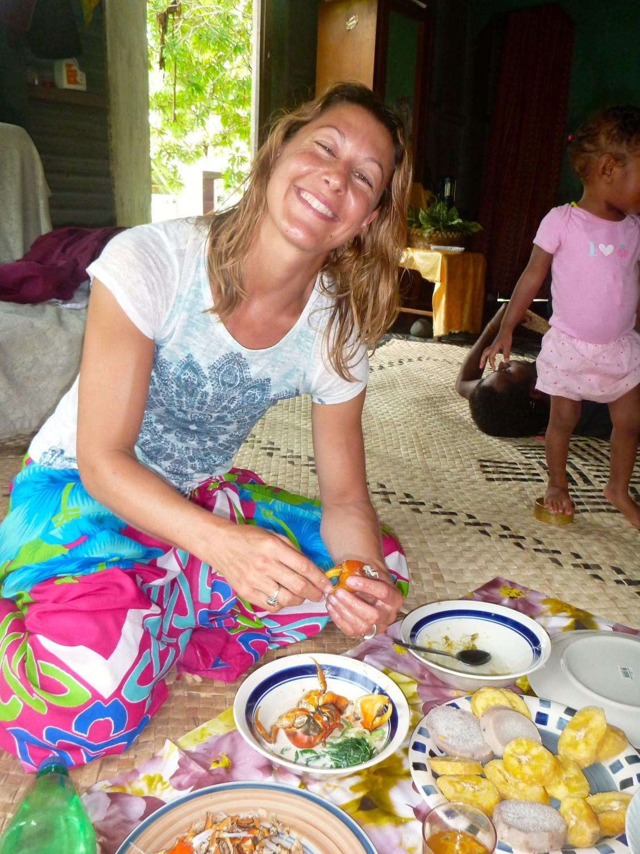 homestay meal Island Spirit Fiji