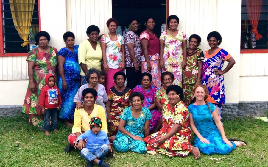 Handicraft culture in Fiji with island spirit
