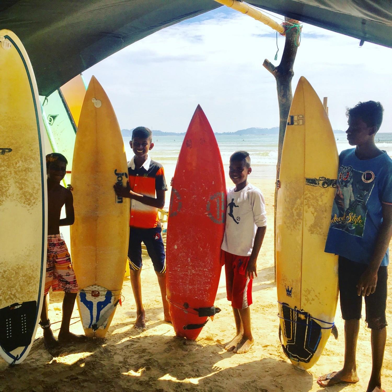 yoga surfing island spirit sri lanka trip