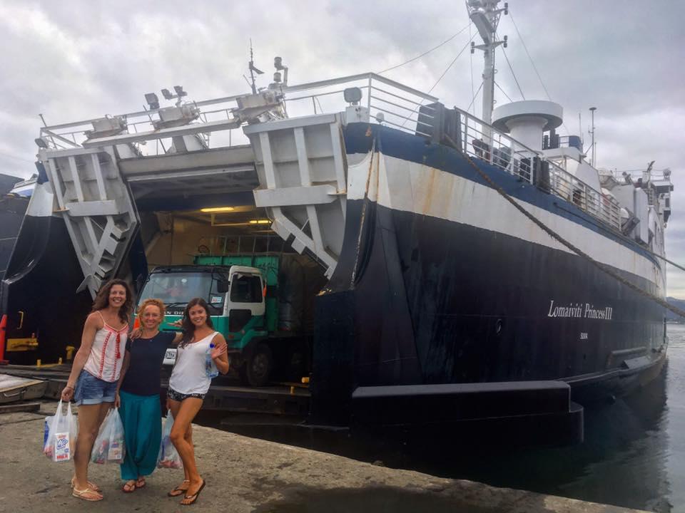 Fiji island Lomaviti Princess Ferry Taveuni