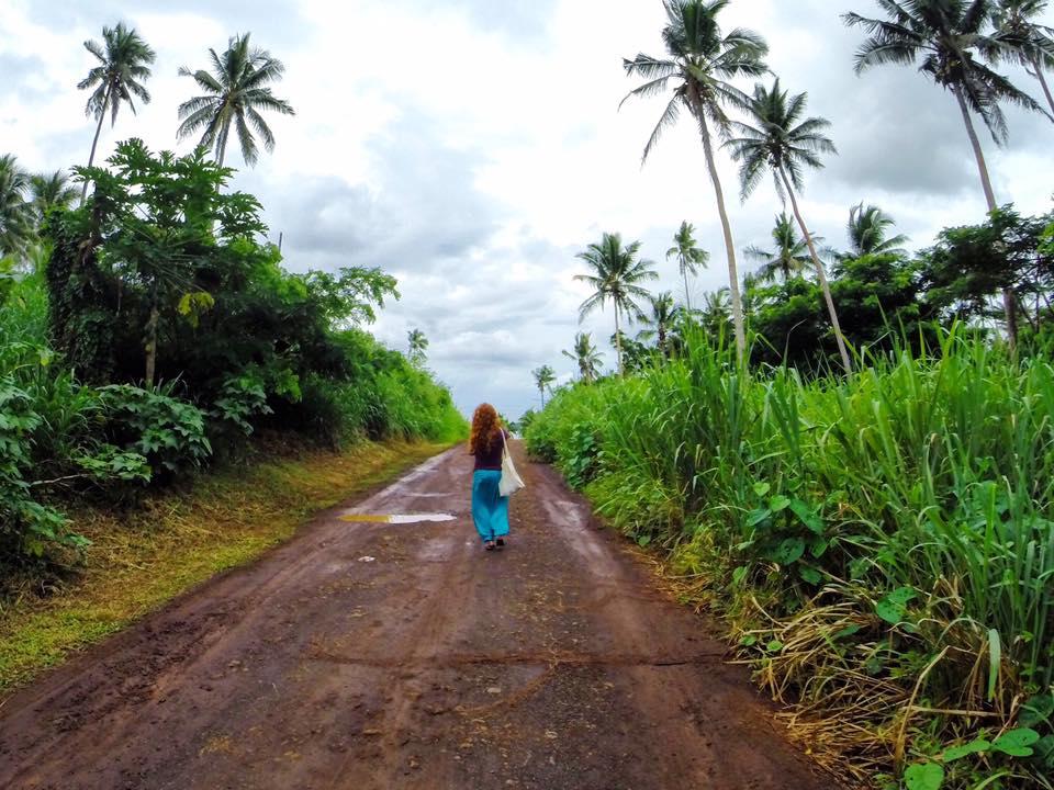 Taveuni strolls Island Spirit Kirsty Fiji