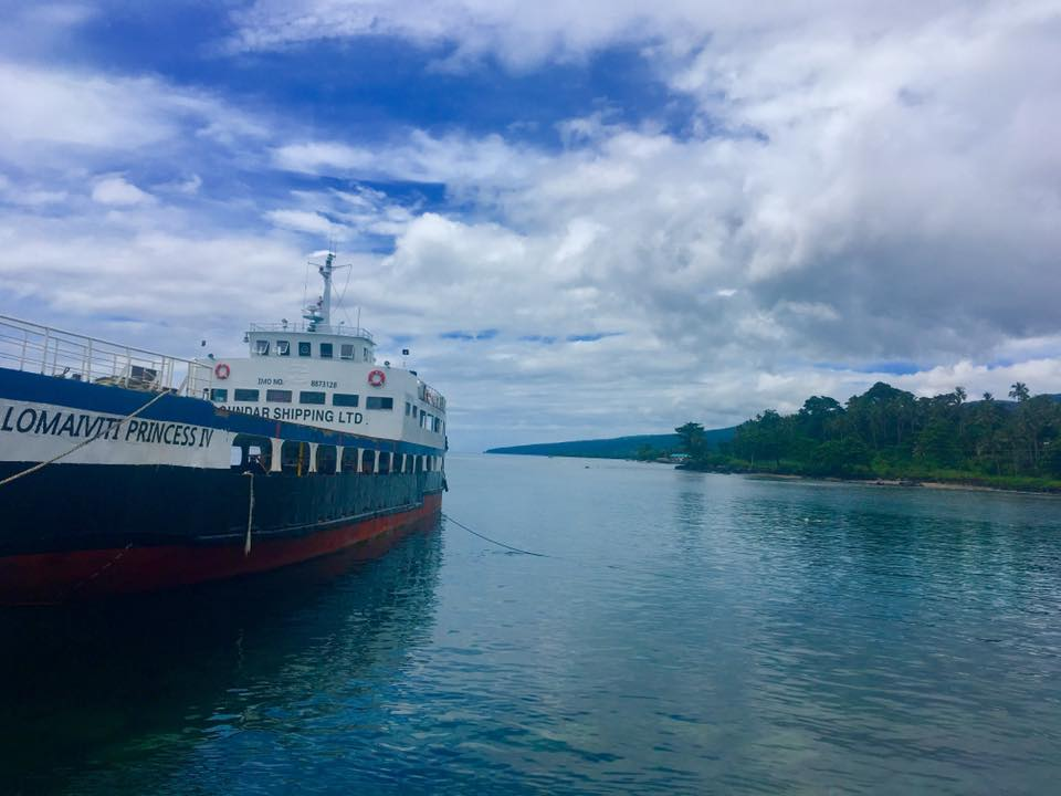 All aboard the Lomavitu Princess, Ferry to Taveuni, Fiji