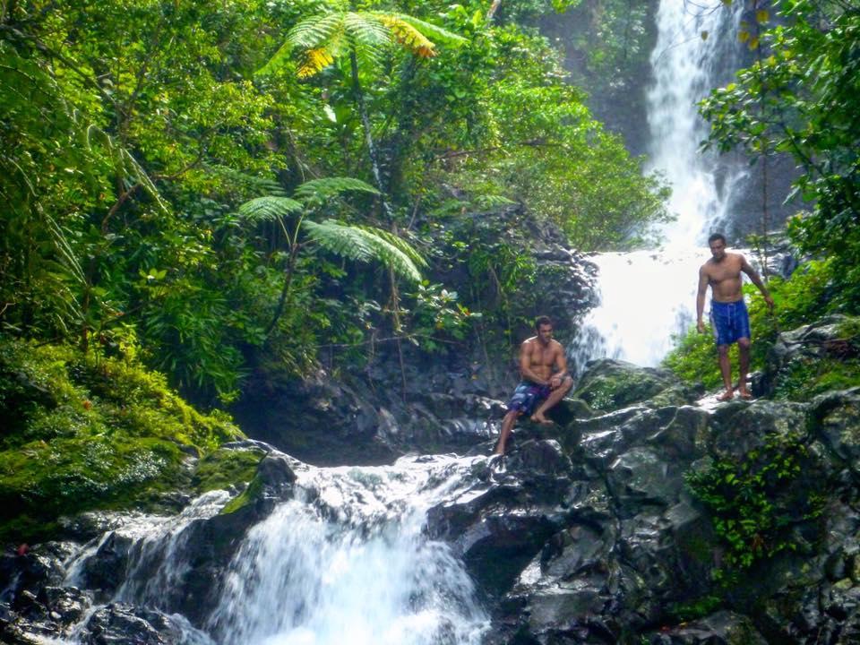Taveuni Natural Waterslides, Waterfall, Fiji