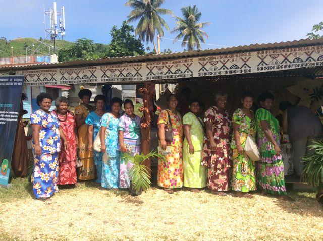 about us, island spirit, local ladies savusavu fiji Fijian Headbands