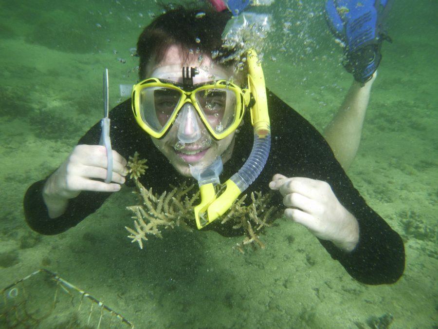 May Coral Gardening Fiji Island Spirit