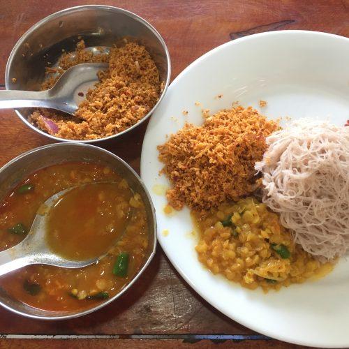 Island Spirit Sri Lanka food