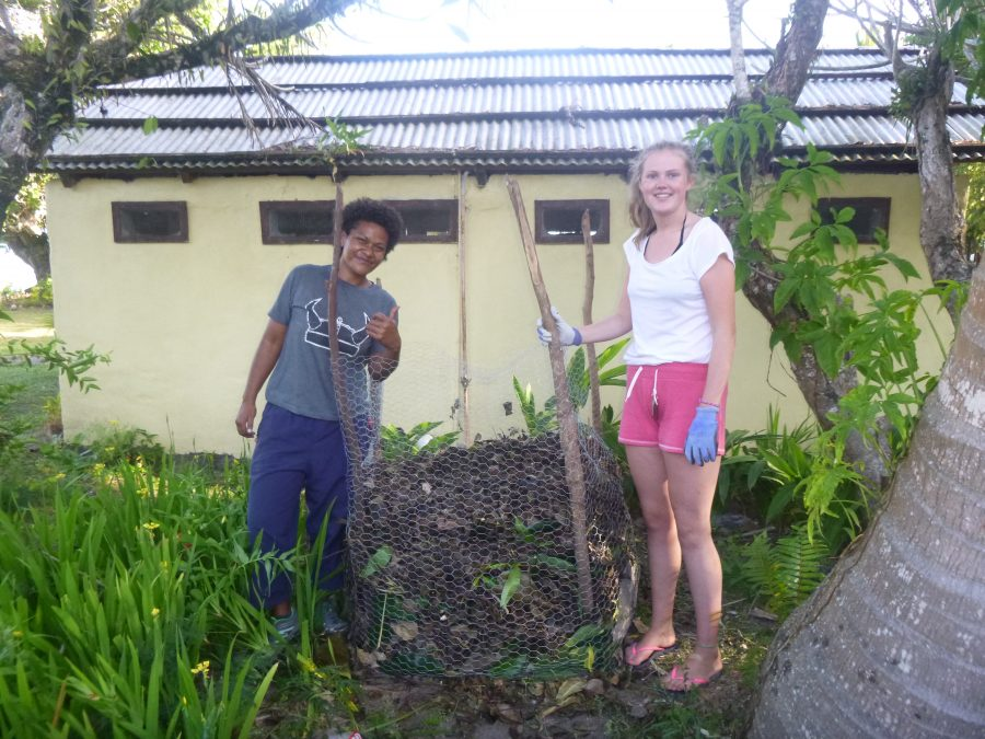 June Composting Island Spirit Fiji