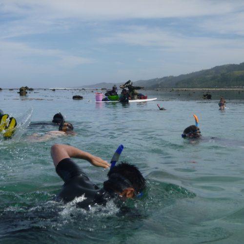 June coral gardening trip 2017 Fiji Island spirit