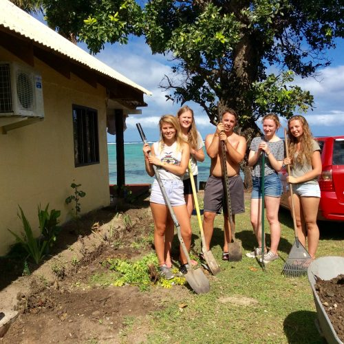 June coral gardening volunteering trip 17 Fiji