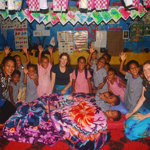 May Volunteers Taqage School, Island Spirit, Fiji