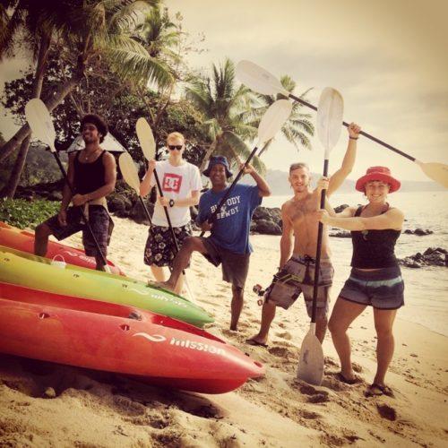 Kayak Fiji Island Spirit