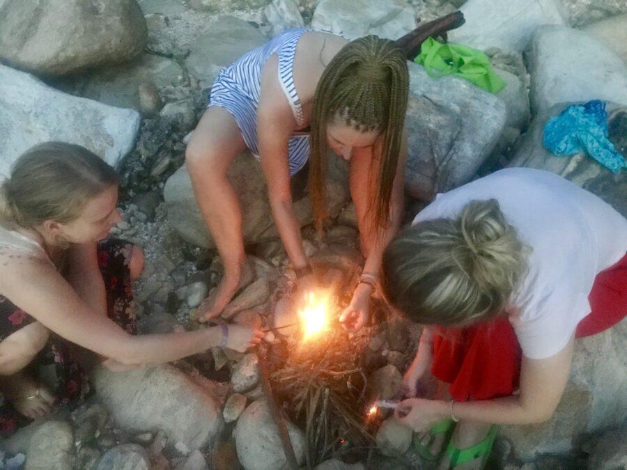 Fire The Point Hiriketiya Sri Lanka Island Spirit