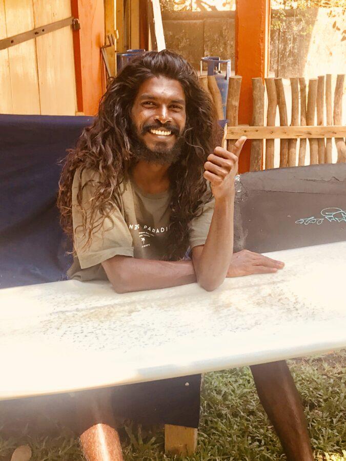 Lahiru Sadun Left for days Hiriketiya Sri Lanka