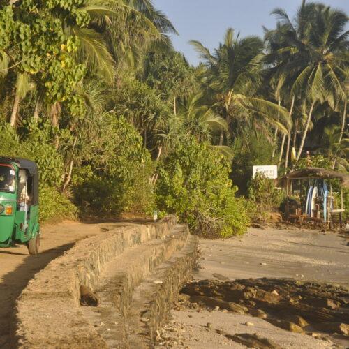 tuk-tuk Hiriketiya Sri Lanka