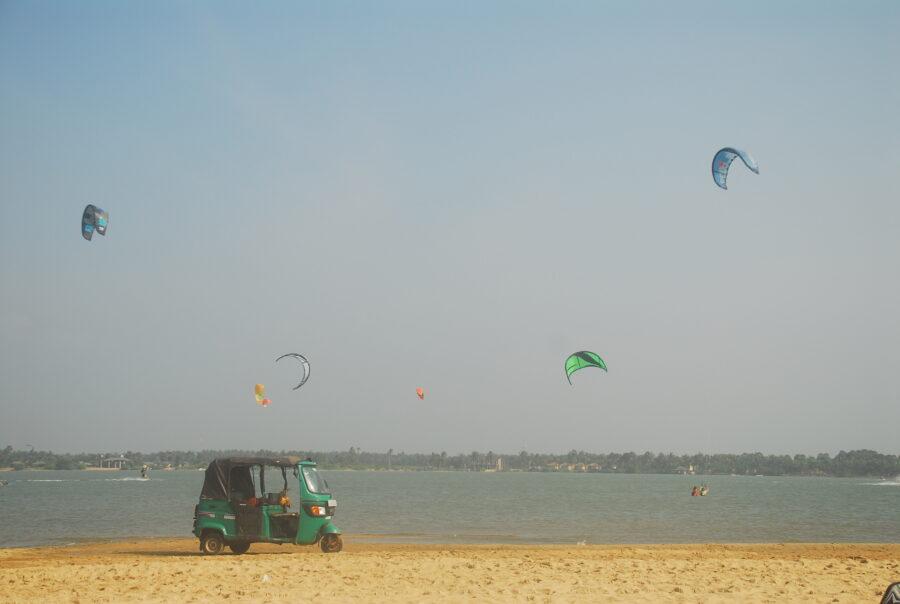 tuktuk Kitesurflanka kitesurfing Kalpitiya Sri Lanka.14