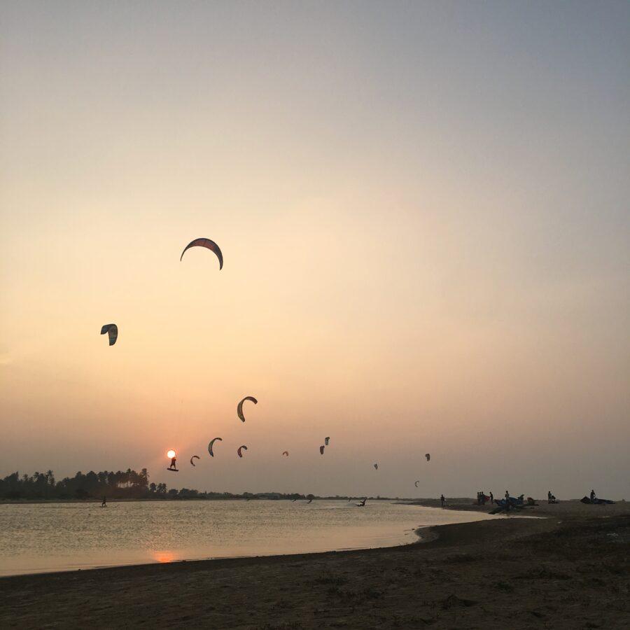 Kitesurflanka kitesurfing Kalpitiya Sri Lanka